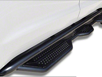 Steel Craft Heavy Duty Wheel-to-Wheel Side Step Bars - Textured Black (09-18 RAM 1500 Quad Cab)