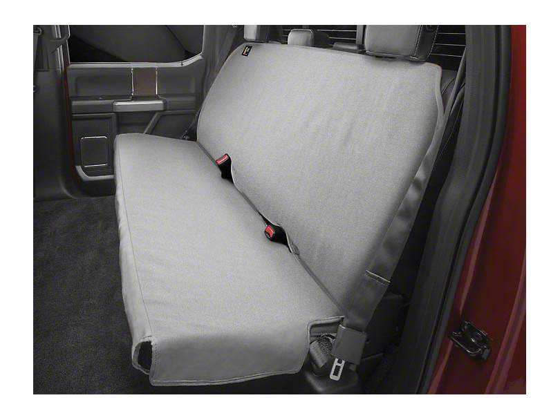 Weathertech 2nd Seat Protector - Gray (09-20 RAM 1500 Crew Cab)