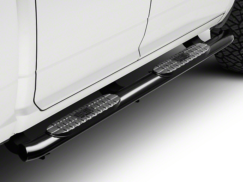 Westin 4 in. Pro Traxx Oval Side Step Bars - Black (09-18 RAM 1500 Quad Cab, Crew Cab)