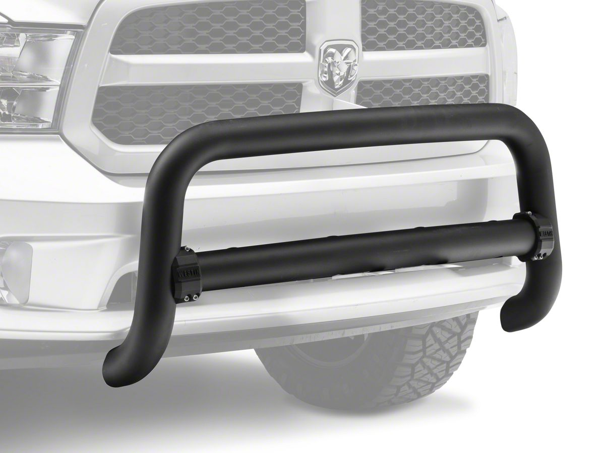 Dodge Ram Bull Bar >> 3 5 In Contour Bull Bar Textured Black 09 18 Ram 1500 Excluding Rebel