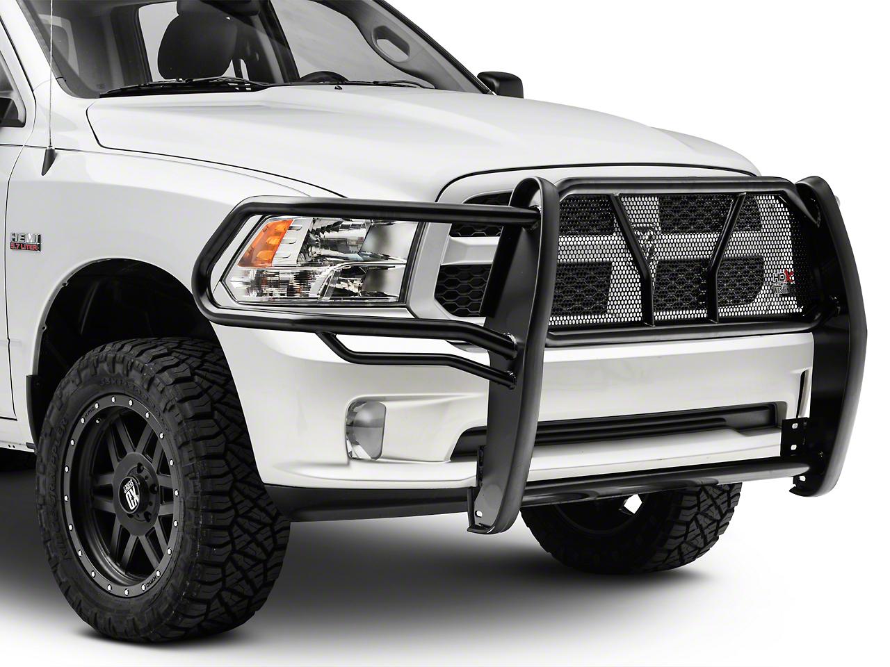Westin HDX Grille Guard - Black (09-18 RAM 1500, Excluding Express, Sport & Rebel)
