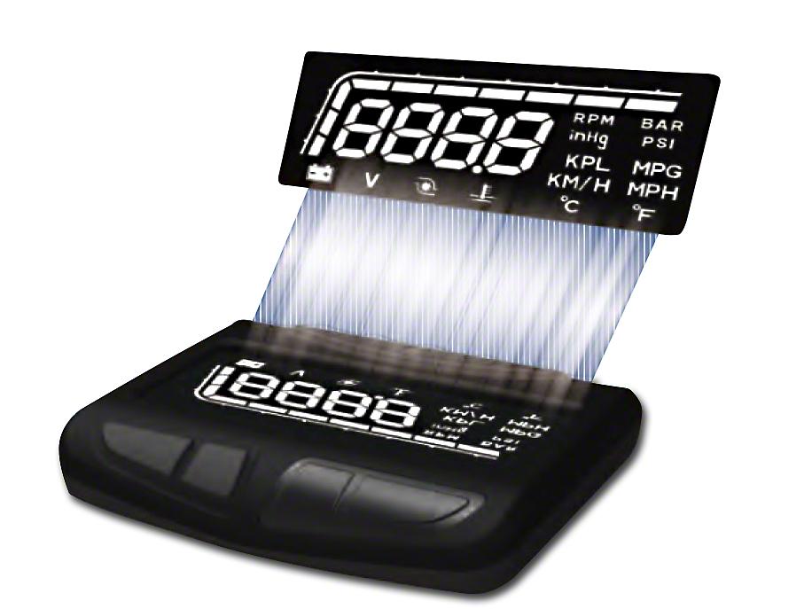 Prosport HUD Display Boost Gauge (02-19 RAM 1500)