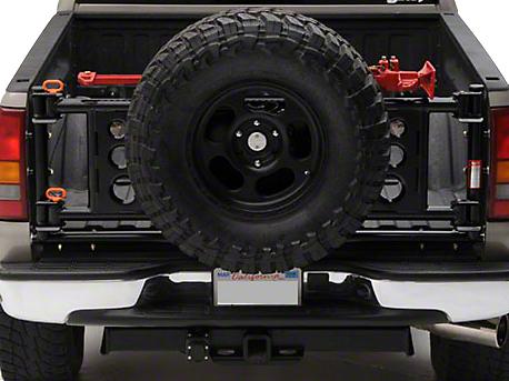 Wilco Offroad Tiregate Vertical Mount Tire Carrier (02-18 RAM 1500)