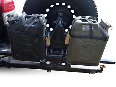 Wilco Offroad Hitchgate Plastic Jerry Can Mounting Kit (02-19 RAM 1500)