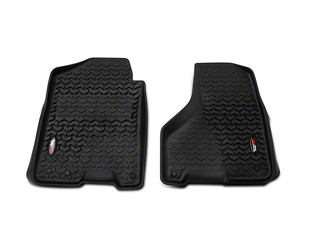 Barricade Front Floor Mats - Black (12-18 RAM 1500)