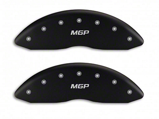 MGP Matte Black Caliper Covers w/ MGP Logo - Front & Rear (04-05 RAM 1500, Excluding SRT-10)
