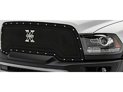 T-REX X-Metal Series Upper Replacement Grille - Black (15-18 RAM 1500 Rebel)