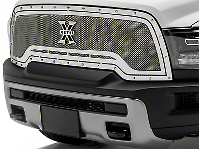 T-REX X-Metal Series Upper Replacement Grille - Polished (15-18 RAM 1500 Rebel)