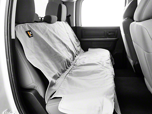 Weathertech 2nd Seat Protector - Gray (09-19 RAM 1500 Quad Cab)