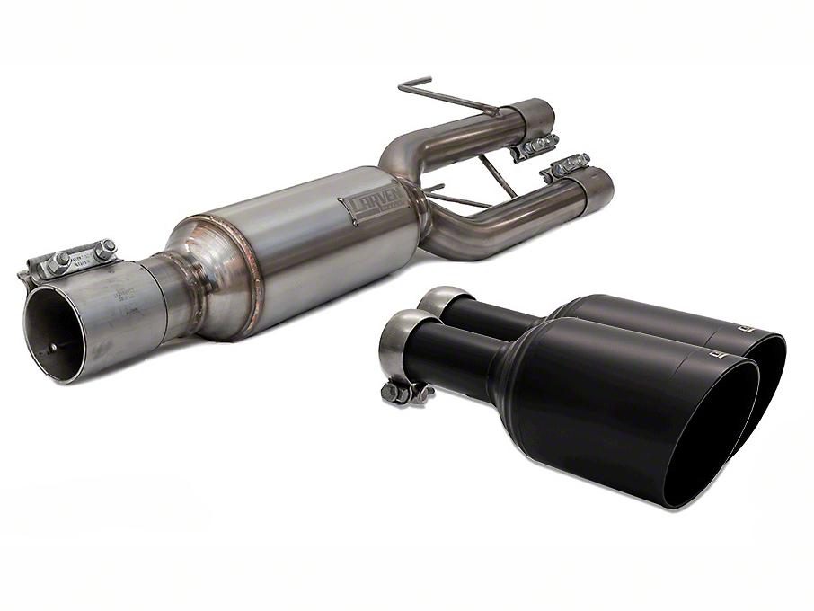 Carven Exhaust Progressive Series Direct Replacement Muffler w/ 5 in. Black Tips (09-18 5.7L RAM 1500 w/ Factory Dual Exhaust)