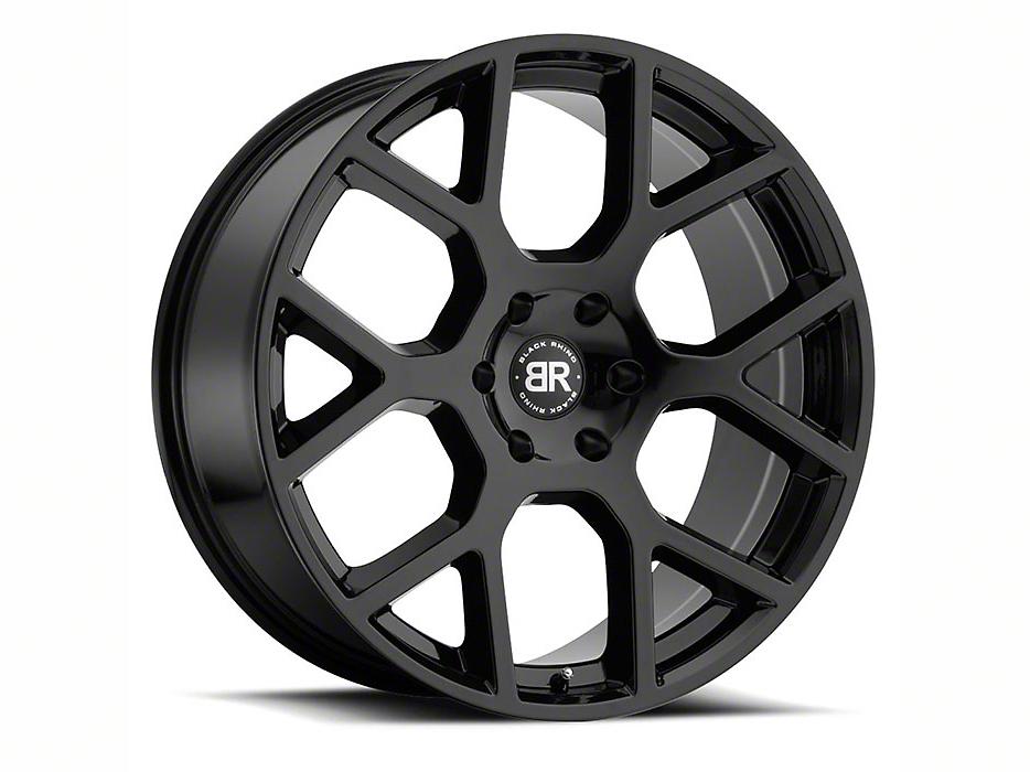 Black Rhino Tembe Gloss Black 5-Lug Wheel - 20x9 (02-18 RAM 1500, Excluding Mega Cab)