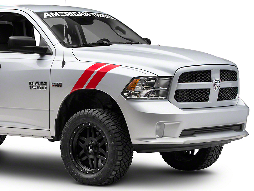 Red Hash Marks (09-18 RAM 1500)