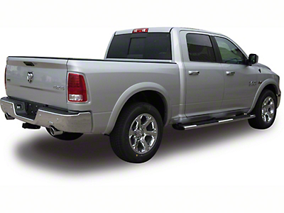 True Edge Sportz Fender Flares - Matte Smooth (09-18 RAM 1500, Excluding R/T)