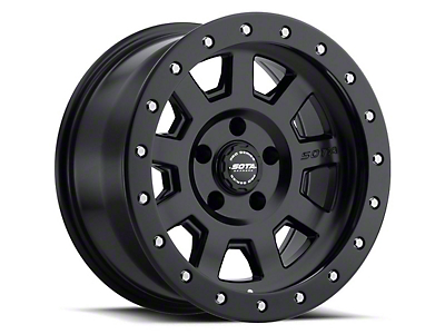SOTA Off Road S.S.D. Stealth Black 5-Lug Wheel - 17x8.5 (02-18 RAM 1500, Excluding Mega Cab)