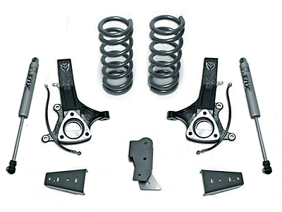 Max Trac MaxPro 4.5 in. Front / 3 in. Rear Lift Kit w/ Fox shocks (09-18 2WD RAM 1500 w/o Air Ride)