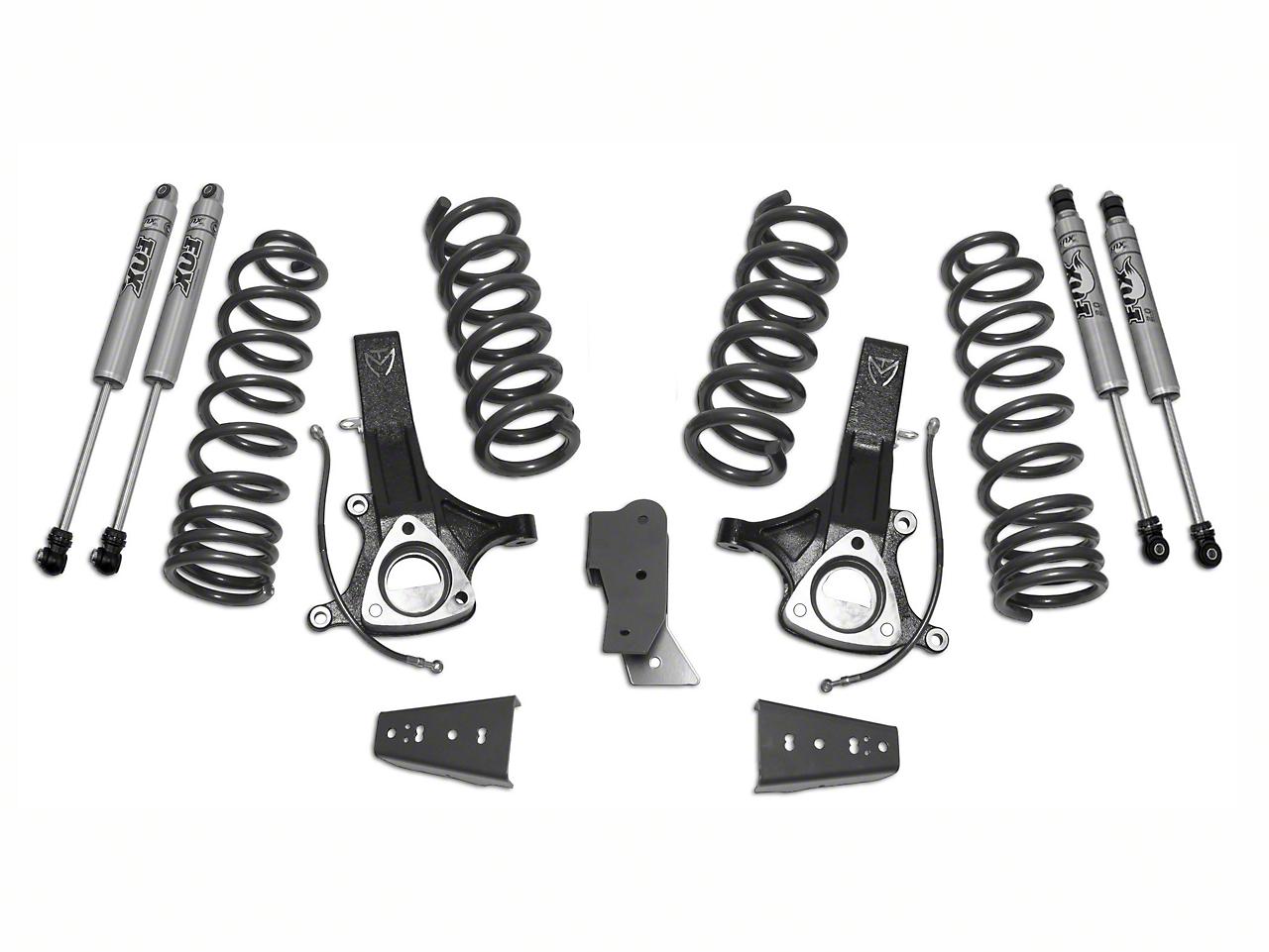Max Trac MaxPro 7.5 in. Front / 4.5 in. Rear Lift Kit w/ Fox Shocks (09-13 2WD 4.7L RAM 1500 w/o Air Ride)