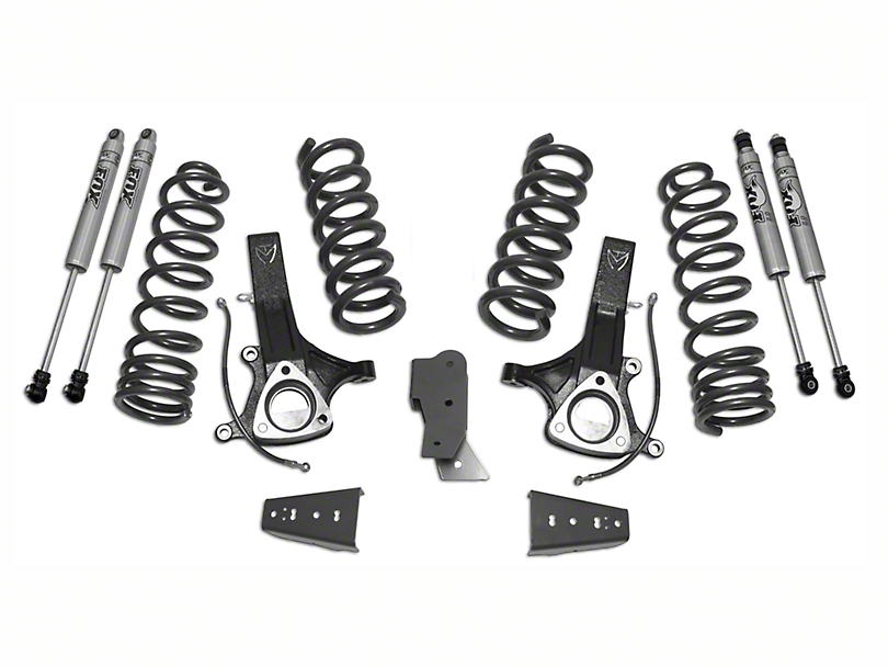 Max Trac MaxPro 7.0 in. Front / 4.5 in. Rear Lift Kit w/ Fox Shocks (09-18 2WD 5.7L RAM 1500 w/o Air Ride)