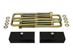 Supreme Suspensions 1-Inch Pro Billet Rear Lift Blocks (02-08 RAM 1500, Excluding Mega Cab)