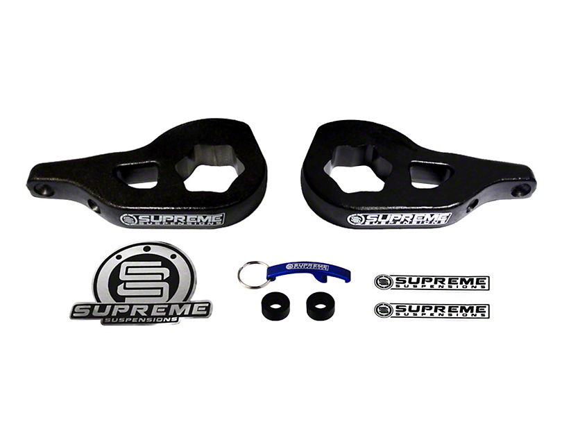 Supreme Suspensions 1-3 in. Front Torsion Key Leveling Kit (02-05 4WD RAM 1500)