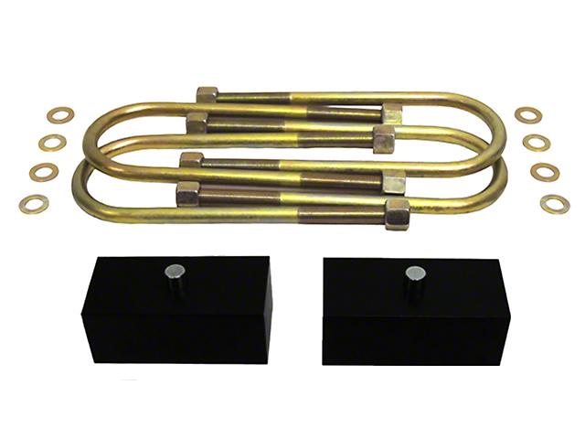 Supreme Suspensions 1.50-Inch Pro Billet Rear Lift Blocks (02-08 RAM 1500, Excluding Mega Cab)