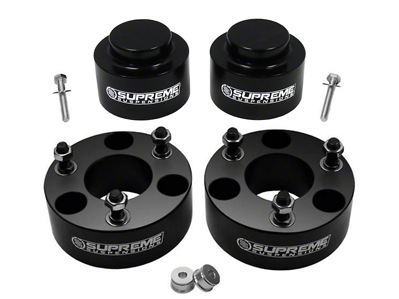 Supreme Suspensions 3.5 in. Front / 2 in. Rear Pro Billet Lift Kit (09-18 4WD RAM 1500 w/o Air Ride, Excluding TRX)