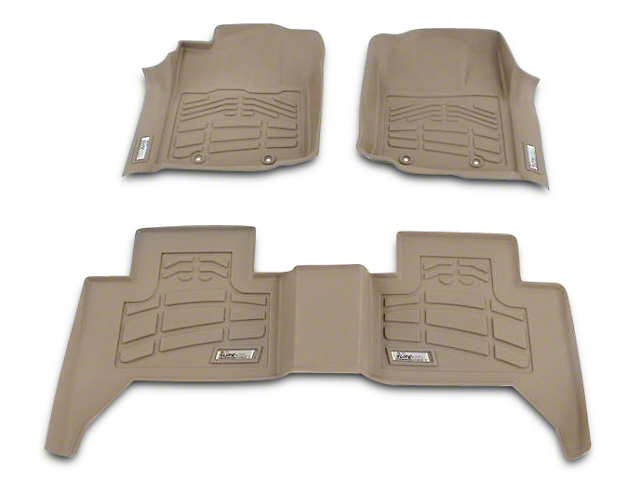 Wade Ram Sure Fit 2nd Row Floor Liner Tan 72 133028 02