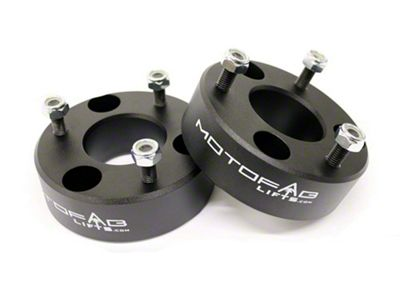 MotoFab 2.5 in. Front Leveling Kit (06-18 4WD RAM 1500 w/o Air Ride, Excluding Mega Cab)