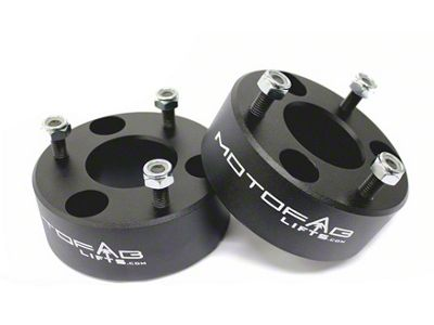 MotoFab 3 in. Front Leveling Kit (06-18 4WD RAM 1500 w/o Air Ride, Excluding Mega Cab)