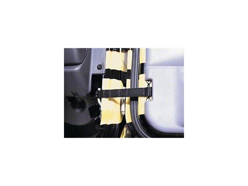 Smittybilt Adjustable Door Straps (02-19 RAM 1500)
