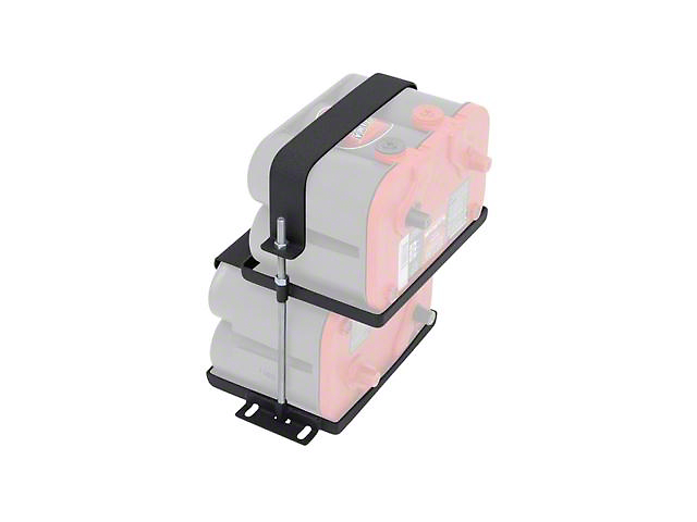 Smittybilt Dual Battery Tray for Optima Batteries (Universal Fitment)