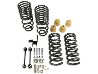 Belltech Lowering Kit - 2 in. Front / 4 in. Rear (09-18 2WD V8 RAM 1500 Regular Cab & Quad Cab w/ 6.4 ft. Box; Crew Cab w/ 5.7 ft. Box)