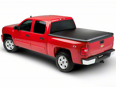 UnderCover Classic Hinged Tonneau Cover - Black Textured (02-08 RAM 1500 w/ 6.4 ft. Box)