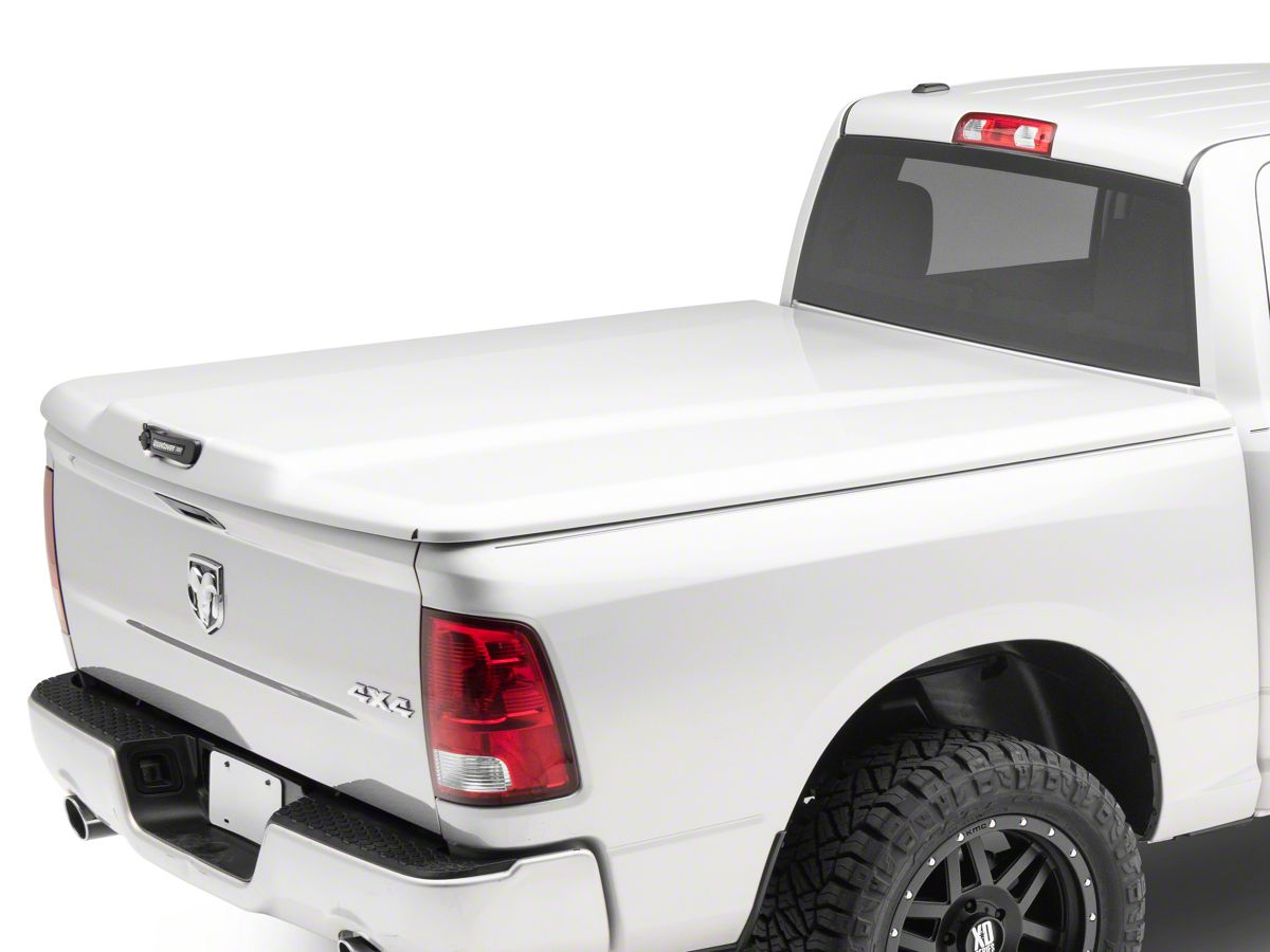 Undercover Ram 1500 Elite Lx Hinged Tonneau Cover Pre Painted R105933 09 18 Ram 1500 W 5 7 Ft 6 4 Ft Box W O Ram Box