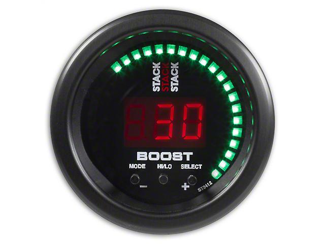 Auto Meter Stack Boost Controller Gauge - Black (02-19 RAM 1500)