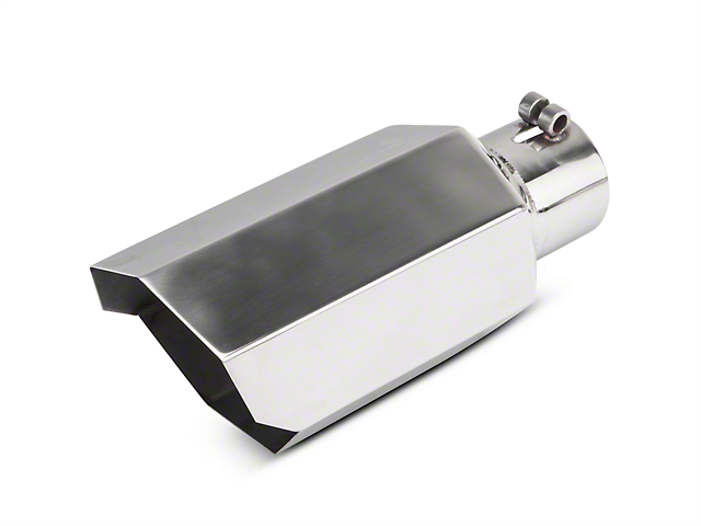 Proven Ground 5 in. Polished Stagger Cut Exhaust Tip - 3 in. Connection (02-19 RAM 1500)