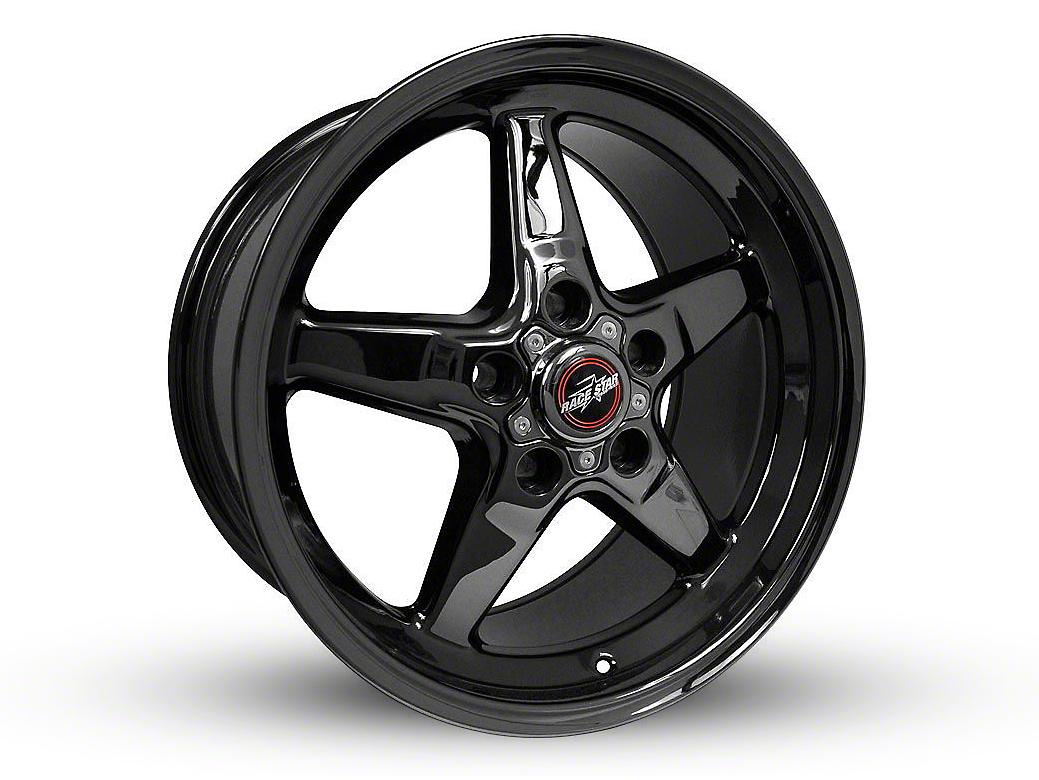 Race Star 92 Drag Star Dark Star Black Chrome 5-Lug Wheel - Direct Drill - 17x10.5 (02-18 RAM 1500, Excluding Mega Cab)