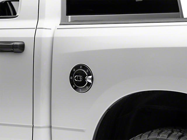 RedRock 4x4 Fuel Door Cover; Chrome (09-14 RAM 1500)