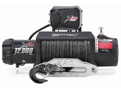 Smittybilt XRC 12 Comp Series Gen2 Load Indicator 12,000 lb. Winch w/ Synthetic Rope
