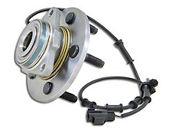 Yukon Gear Front Bearing and Hub Assembly; 6-Lug (02-05 RAM 1500 w/ ABS)