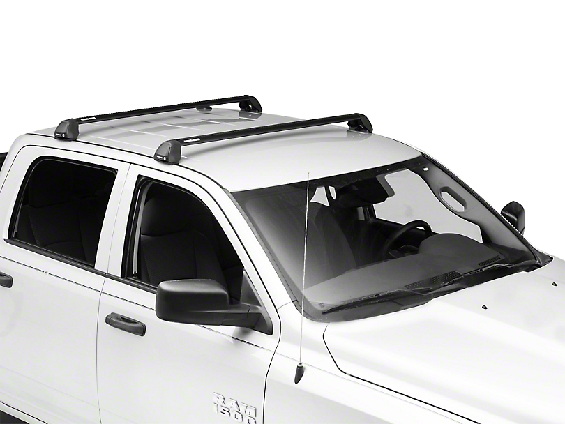 Rhino-Rack Vortex 2500 RS 2-Bar Roof Rack - Black (09-18 RAM 1500 Quad Cab, Crew Cab)