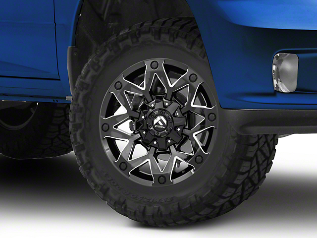 Fuel Wheels Ambush Gloss Black Milled 5-Lug Wheel - 17x9 (02-18 RAM 1500, Excluding Mega Cab)