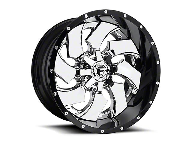 Fuel Wheels Cleaver Chrome 5-Lug Wheel - 24x14 (02-18 RAM 1500, Excluding Mega Cab)