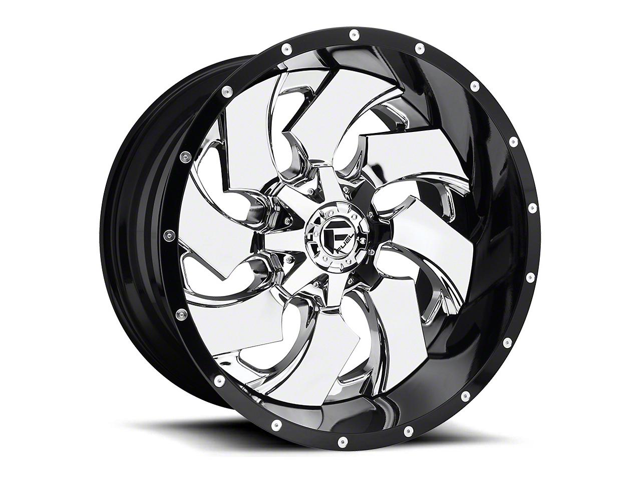 Fuel Wheels Cleaver Chrome 5-Lug Wheel - 24x16 (02-18 RAM 1500, Excluding Mega Cab)