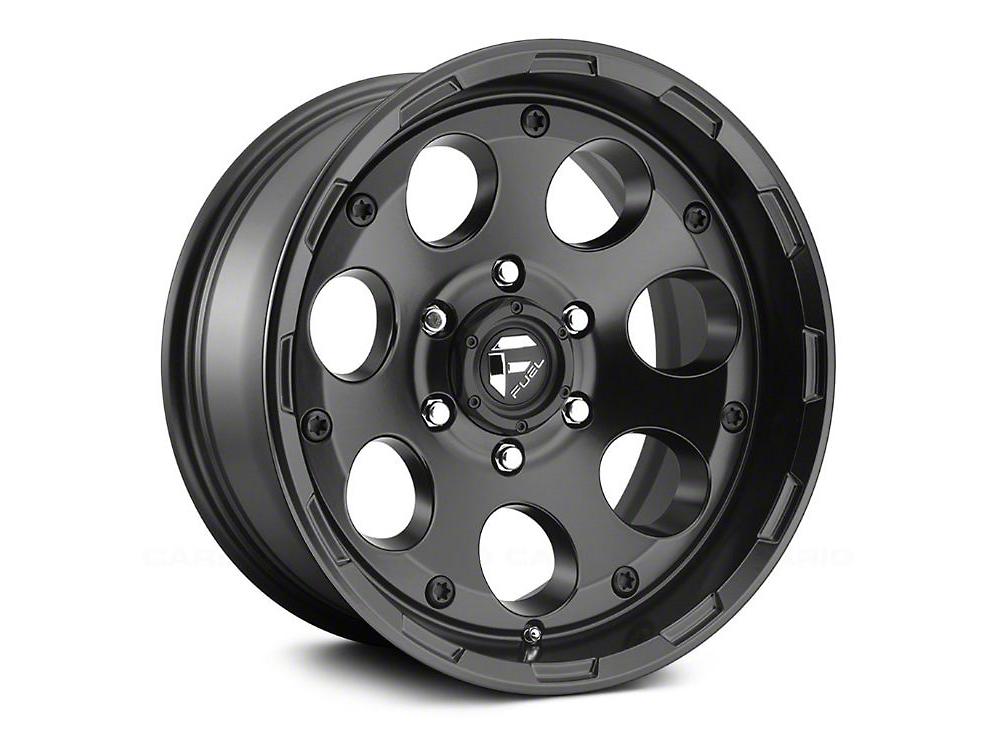 Fuel Wheels Enduro Matte Black 5-Lug Wheel - 20x9 (02-18 RAM 1500, Excluding Mega Cab)