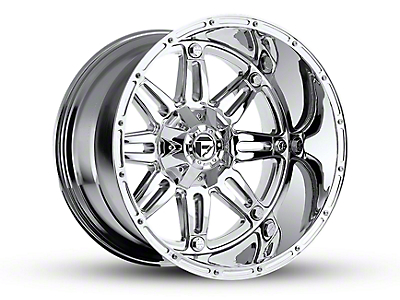 Fuel Wheels Hostage Chrome 5-Lug Wheel - 22x14 (02-18 RAM 1500, Excluding Mega Cab)