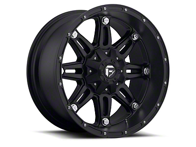 Fuel Wheels Hostage Matte Black 5-Lug Wheel - 22x14 (02-18 RAM 1500, Excluding Mega Cab)