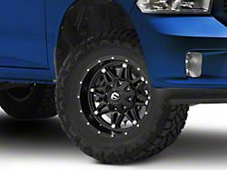 Fuel Wheels Hostage Matte Black 5-Lug Wheel; 17x9; -12mm Offset (09-18 RAM 1500)