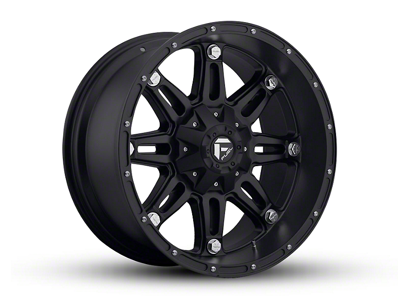 Fuel Wheels Hostage Matte Black 5-Lug Wheel - 20x10 (02-18 RAM 1500, Excluding Mega Cab)