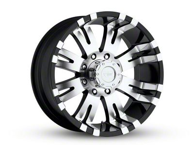 pro p wheels ram series 8101 gloss black machined 8 lug wheel Extra Long Bed Mega Cab pro p wheels series 8101 gloss black machined 8 lug wheel 18x9 5 06 08 ram 1500 mega cab