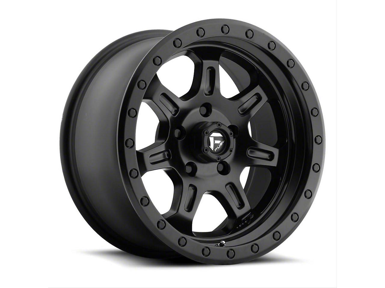 Fuel Wheels JM2 Matte Black 5-Lug Wheel - 17x8.5 (02-18 RAM 1500, Excluding Mega Cab)